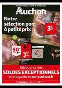 Prospectus Auchan BAGNOLET : Notre sélection Porc à petits prix