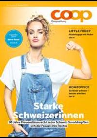Journaux et magazines Coop Supermarché Belp : Coopzeitung