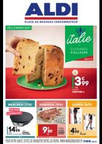 Prospectus Aldi Epinay-sur-Seine : L'italie - Cuisines d'ailleurs