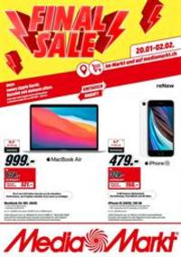 Promos et remises Media Markt Bern  : Final Sale