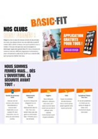 Prospectus Basic-Fit Garges-lès-Gonesse : Nos clubs sont fermés!