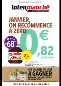 Prospectus Intermarché Contact ROUILLON : JANVIER, ON RECOMMENCE À ZÉRO