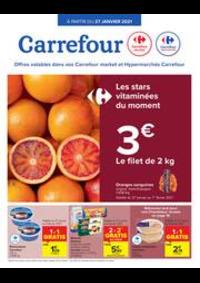 Prospectus Carrefour Market BRAINE L'ALLEUD Place du Môle : folder Carrefour Market