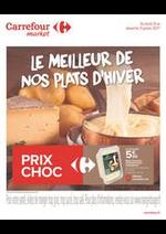 Prospectus Carrefour : Le Meilleur de Nos Plats d'Hiver