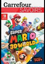 Prospectus Carrefour : SUPER MARIO 3D WORLD