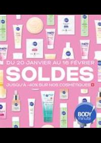 Prospectus Body minute PARIS M° Place d'Italie : Soldes