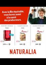 Prospectus Naturalia : Offres Naturalia