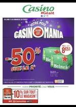 Prospectus Géant Casino : Votre mois Casinomania