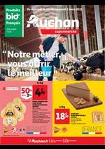 Prospectus Auchan Supermarché : Notre métier, vous offir le meilleur