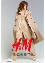 Catalogues et collections H&M : TRENCHS FEMME