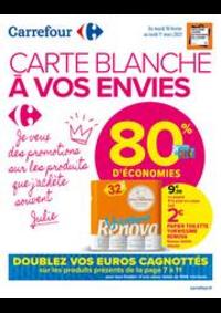 Promos et remises Carrefour Market NANTERRE : CARTE BLANCHE A VOS ENVIES