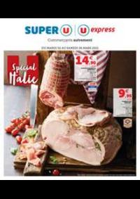 Prospectus Super U AMPHION LES BAINS : SPÉCIAL ITALIE