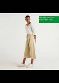 Prospectus United Colors Of Benetton PARIS PLACE DE L'OPERA' 3 RUE DE LA PAIX : Nouvelle Collection / Femme