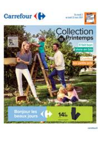 Prospectus Carrefour SANNOIS : Collection TEX Printemps