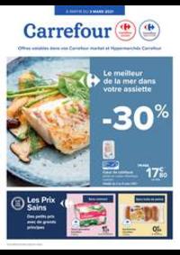 Prospectus Carrefour Market KORTRIJK Vercruysselaan : folder Carrefour Market