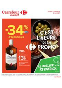 Prospectus Carrefour Market AVRILLE : C'est l'heure de la promo