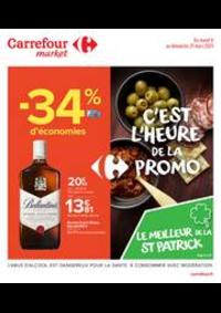 Prospectus Carrefour Market GUYANCOURT : C'est l'heure de la promo
