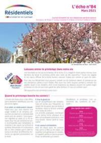 Prospectus Mondial Relay Angers - Rue Vaucanson : L'écho des résidentiels