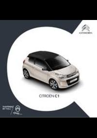 Prospectus Citroen AUBERVILLIERS : Citroën C1
