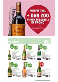 Prospectus Supermarché Delhaize Hornu : WIJNFESTIVAL