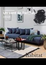 Prospectus Habitat : Nouveautés de Printemps!