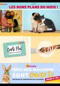 Prospectus Animalis Groslay : Les bons plans du mois