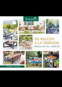 Prospectus botanic Mulhouse Dornah : Du balcon à la terrasse