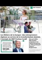 Prospectus BNP Paribas : Les métiers de la banque