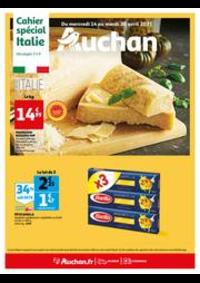 Prospectus Auchan ISSY LES MOULINEAUX : L'Italie s'invite à votre table !