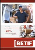 Prospectus Retif : Articles d'emballage d'expédition