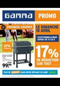Prospectus GAMMA UCCLE : Magazine de jardin