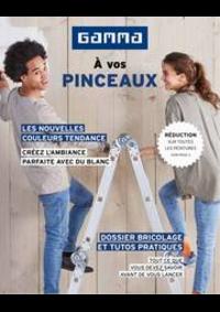 Prospectus GAMMA MENEN : Magazine de peinture