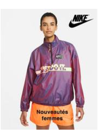 Prospectus Nike BRUXELLES : Nouveautés femmes