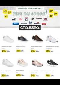 Prospectus Chausséa FRESNES : Fête du sport !