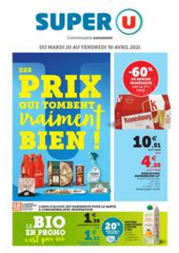 Prospectus Super U VILLE D'AVRAY : DES PRIX QUI TOMBENT VRAIMENT BIEN !