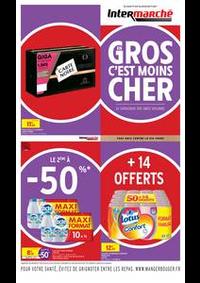 Prospectus Intermarché Super Chilly Mazarin : EVEN GROS VOLUMES AVRIL
