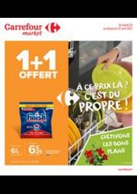 Prospectus Carrefour Market TREMBLAY EN FRANCE : À ce prix là ? C'est du propre !