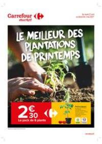 Prospectus Carrefour Market MASSY : Le meilleur des plantations de Printemps