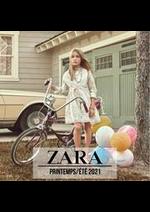 Promos et remises  : ZARA ENFANTS Campaign PrintempsÉté 2021