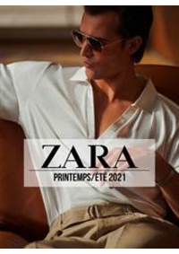 Catalogues et collections ZARA Leuven : ZARA HOMME Campaign PrintempsÉté  2021