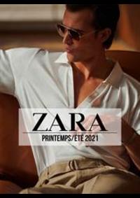 Catalogues et collections ZARA WATERLOO : ZARA HOMME Campaign PrintempsÉté  2021