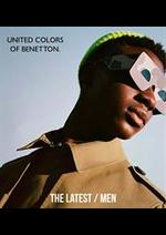 Catalogues et collections Benetton : The Latest  Men