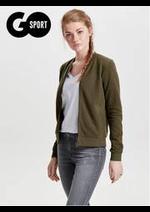 Prospectus Go Sport : Nouveauté vêtements Femme