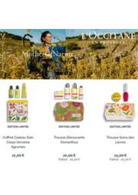Prospectus L'Occitane Anderlecht : Mothers of Nature