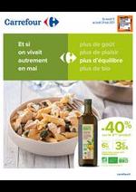 Prospectus Carrefour : Et si on vivait autrement en Mai