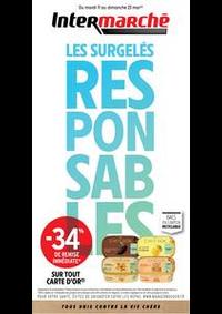 Prospectus Intermarché Super Rosières-Pres-Troyes : EVEN SURGELES MAI