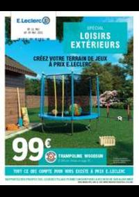 Prospectus E.Leclerc LOGELBACH-WINTZENHEIM : Spécial loisirs extérieurs