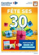 Prospectus Carrefour : Fete ses 30 ans