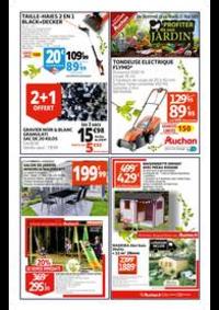 Prospectus Auchan Leers : JARDINERIE