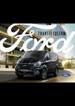 Prospectus Ford : Nouveau Transit Custom